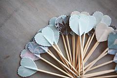 Dekorácie - Candy bar - napichovátka (zápich) - 9200271_