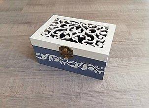 Krabičky - Šperkovnica ornament - 9197231_