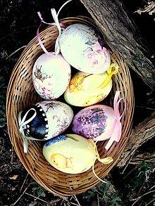 Dekorácie - Veľkonočné vajíčka-mix - 9196382_