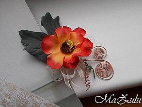 Pierka - svadobné pierko pre ženícha - 9196797_