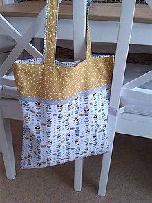 Nákupné tašky - Bavlnené tašky (Taška na plece) - 9201502_