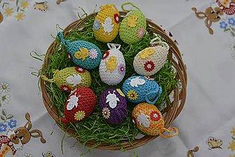 Dekorácie - Veľkonočné vajíčka - 9198035_