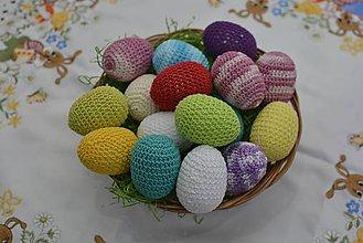 Dekorácie - Veľkonočné vajíčka - 9198145_
