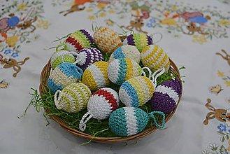 Dekorácie - Veľkonočné vajíčka - 9198205_