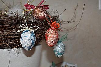 Dekorácie - KRASLICE - 3D ruže - 9199653_