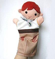 Hračky - Maňuška folk chlapec - Gusto - 9200259_