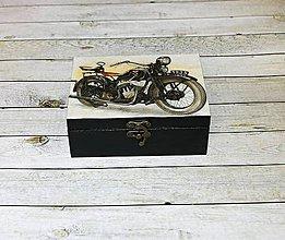 Krabičky - Krabička pre pánov - 9197664_