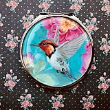 Zrkadielka - Zrkadielko Tyrkysový kolibrík - 9200670_