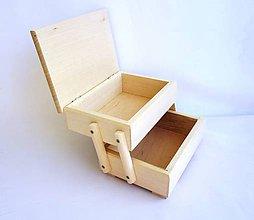 Polotovary - M37-  Krabička na šijacie potreby - 9197556_