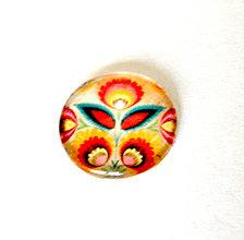 Komponenty - folklorny kaboson - kvet kruh 20mm - 9200375_