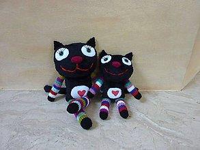 Hračky - Čierna cica - 9199123_