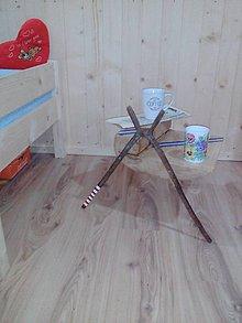 Nábytok - nočný stolík Marko MASIV DUB - 9200289_