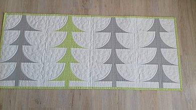 Úžitkový textil - Obrus - štóla - stromy - 9197583_