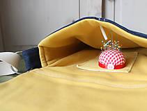 Kabelky - Denimová športová taška - 9198736_