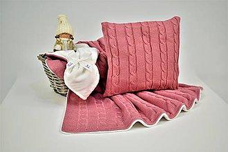 Textil - Pletená zimná detská deka