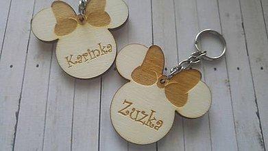 Kľúčenky - prívesok miška minnie - 9197671_