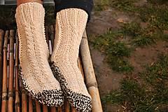 - béžové ponožky - 9200637_