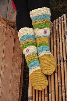 Obuv - Farebné ponožky - 9200004_
