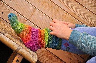 Obuv - melírované ponožky - 9200428_
