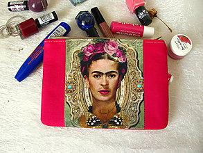 Taštičky - Taštička na mobil - Frida - 9196697_
