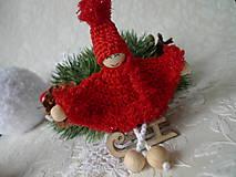 Dekorácie - Vianočná postavička - 9195941_