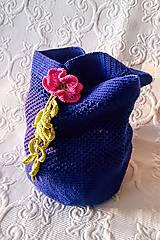 Iné tašky - Tajomná kráska - háčkovaná taška - 9200606_