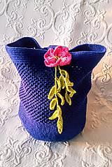 Iné tašky - Tajomná kráska - háčkovaná taška - 9200608_