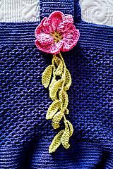 Iné tašky - Tajomná kráska - háčkovaná taška - 9200609_
