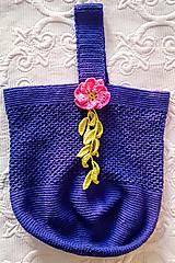 Iné tašky - Tajomná kráska - háčkovaná taška - 9200611_