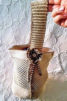 Iné tašky - Kučeravá Sue - háčkovaná taška - 9200554_