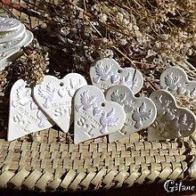 Galantéria - Biele saténové holúbky - 9195945_