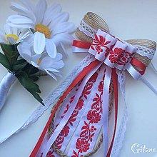 Pierka - Mašľa na pierko - 9196349_