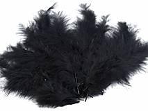 - Pštrosie perie 20 ks (čierne) - 9196381_