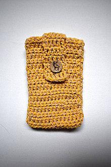 Na mobil - Obal na mobil - žltý - 9201923_