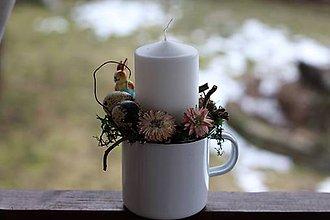 Dekorácie - Veľkonočný svietnik - 9201954_
