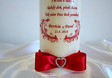 Svietidlá a sviečky - Láska dokáže život ľudí rozveseliť, ak oni dokážu lásku a život brať vážne. - 9203738_