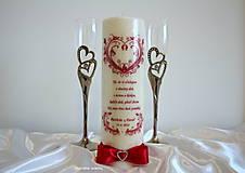 Svietidlá a sviečky - Láska dokáže život ľudí rozveseliť, ak oni dokážu lásku a život brať vážne. - 9203742_