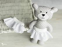 Hračky - Slečinka v ružovom alebo bielom - 9203555_