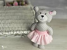 Hračky - Slečinka v ružovom alebo bielom - 9203565_