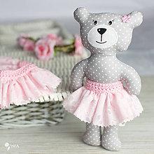 Hračky - Slečinka v ružovom alebo bielom - 9203570_