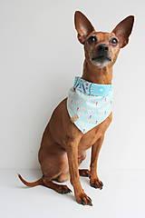 Pre zvieratká - Oli - Obojstranná šatka pre psíkov - 9203423_