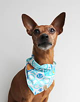 Pre zvieratká - Oli - Obojstranná šatka pre psíkov - 9203437_