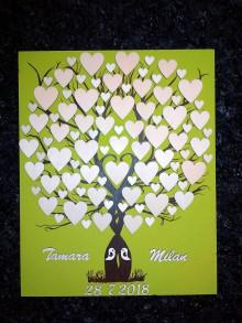 Dekorácie - svadobná kniha hostí 7 - 9202688_