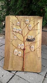 """Obrazy - Drevený obraz - """"Vtáčí strom"""" - 9202974_"""