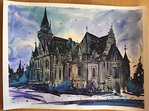 300f0557b Budmerice / c_watercolors - SAShE.sk - Handmade Obrazy