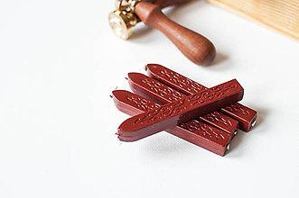 Suroviny - Pečatný vosk (Bordovo - Hnedá) - 9202029_
