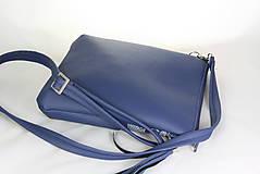 Kabelky - Modrotlačová kabelka Dara modrá 1 - 9203343_