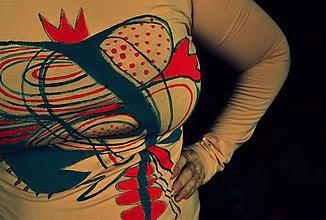 Tričká - Srdcová kráľovná - 9205037_