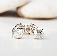 Náušnice - Stones - 9207647_