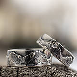 Prstene - Láska hory prenáša ... /pre Máriu a Miguela/  - 9206858_